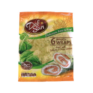 Deli Sun Spinach Wraps 6pcs 360g