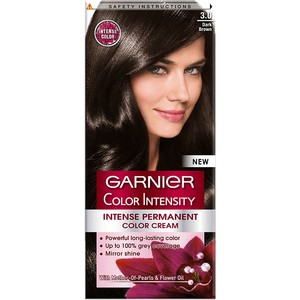Garnier Color Intensity 3.0 Dark Brown Hair Color 1 Packet