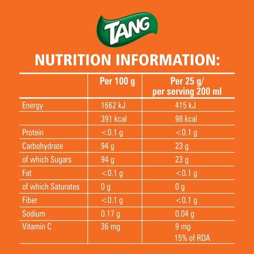Buy Tang Instant Drink Orange 750g - Powdered Drink - Lulu