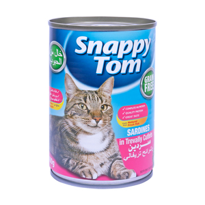 Snappy Tom Sardines in Trevally Cutlet 400g