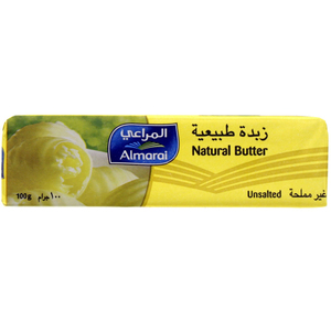 Almarai Natural Butter Unsalted 100g