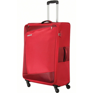 American Tourister Vienna 4 Wheel Soft Trolley 57cm Red