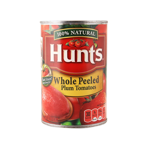 Hunts Whole Peeled Plum Tomatoes 411g