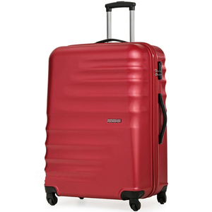 American Tourister Preston 4 Wheel Hard Trolley 55cm Red