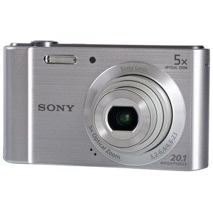Sony Digital Camera DSCW800S 20MP Silver