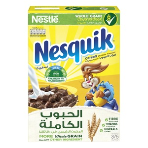 Nestle Nesquik Chocolate Breakfast Cereal 375g