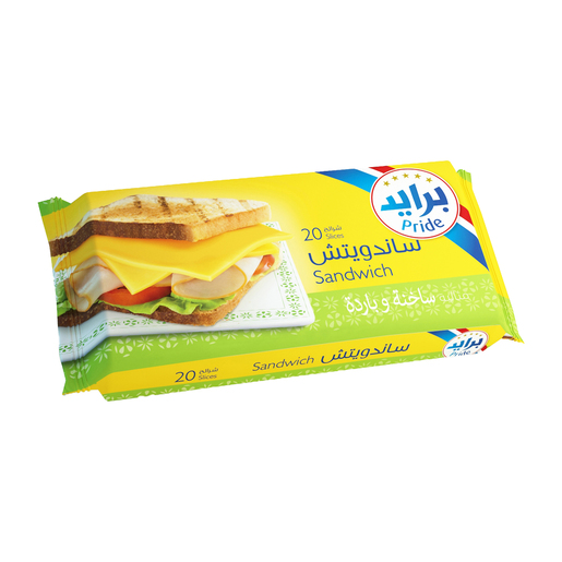 Pride Sandwich  Slice Cheese 20pcs