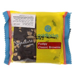 Goldilocks Fudgy Classic Brownies 120gm