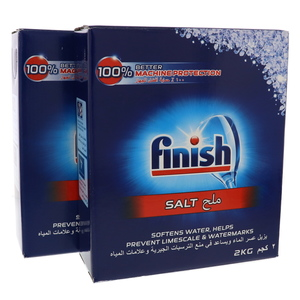 Finish Rinse Salt 2 x 2kg