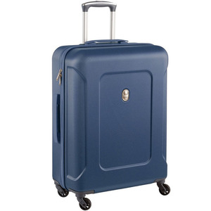 Delsey Ison 4Wheel Hard Trolley 66cm Blue
