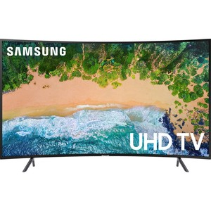 Samsung 4K Ultra HD Smart Curved LED TV UA49NU7300 49""