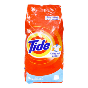 Tide Washing Powder Top Load Original Scent 9kg