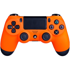 Sony DualShock 4 Controller for PlayStation 4, Sunset Orange