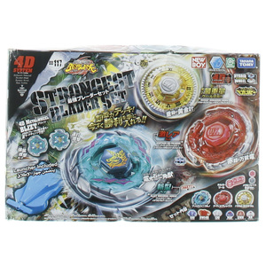 Bey Blade BB117 Strongest Blader Set 3pc NB90741