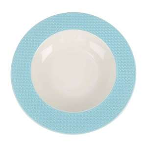 Qualitier Soup Plate Blue 23cm per pc