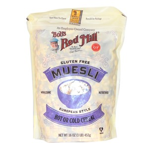 Bob's Red Mill Muesli Cereal Gluten Free 453g