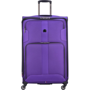 Delsey Sky Max 4 Wheel Soft Trolley 70cm Purple