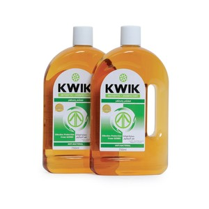Kwik Antiseptic Disinfectant Liquid 750ml x 2pcs