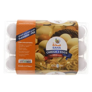 Saha Omega 3 Eggs Medium 15pcs