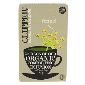 Clipper Organic Fennel Tea Bag 20pcs