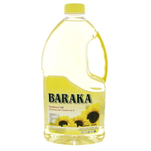 Baraka Sunflower Oil 1.8Litre