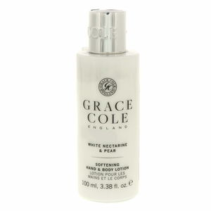 Grace Cole Softning Hand And Body Lotion White Nectarine And Pear 100ml