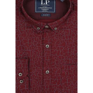 Louis Philippe Men's Casual Shirt LS LYSFCSLF595477