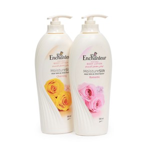 Enchanteur Perfumed Body Lotion Assorted 500ml x 2's