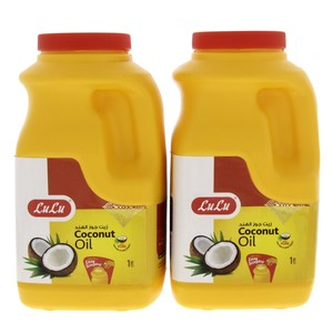 Lulu Coconut Oil 2 x 1Litre