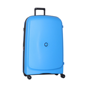 Delsey Belmont Plus 4Wheel Hard Trolley 82cm Blue