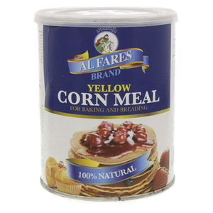 Al Fares Brand Yellow Corn Meal 500g