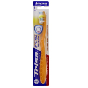 Trisa Toothbrush Matrix Soft 1pc Assorted Colours