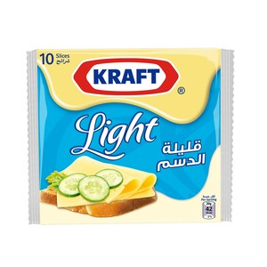 Kraft Cheese Slices Light 200g