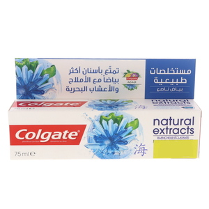 Colgate Toothpaste Natural Extracts With Seaweed & Salt 75ml