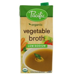 Pacific Organic Vegetable Broth Low Sodium 946ml