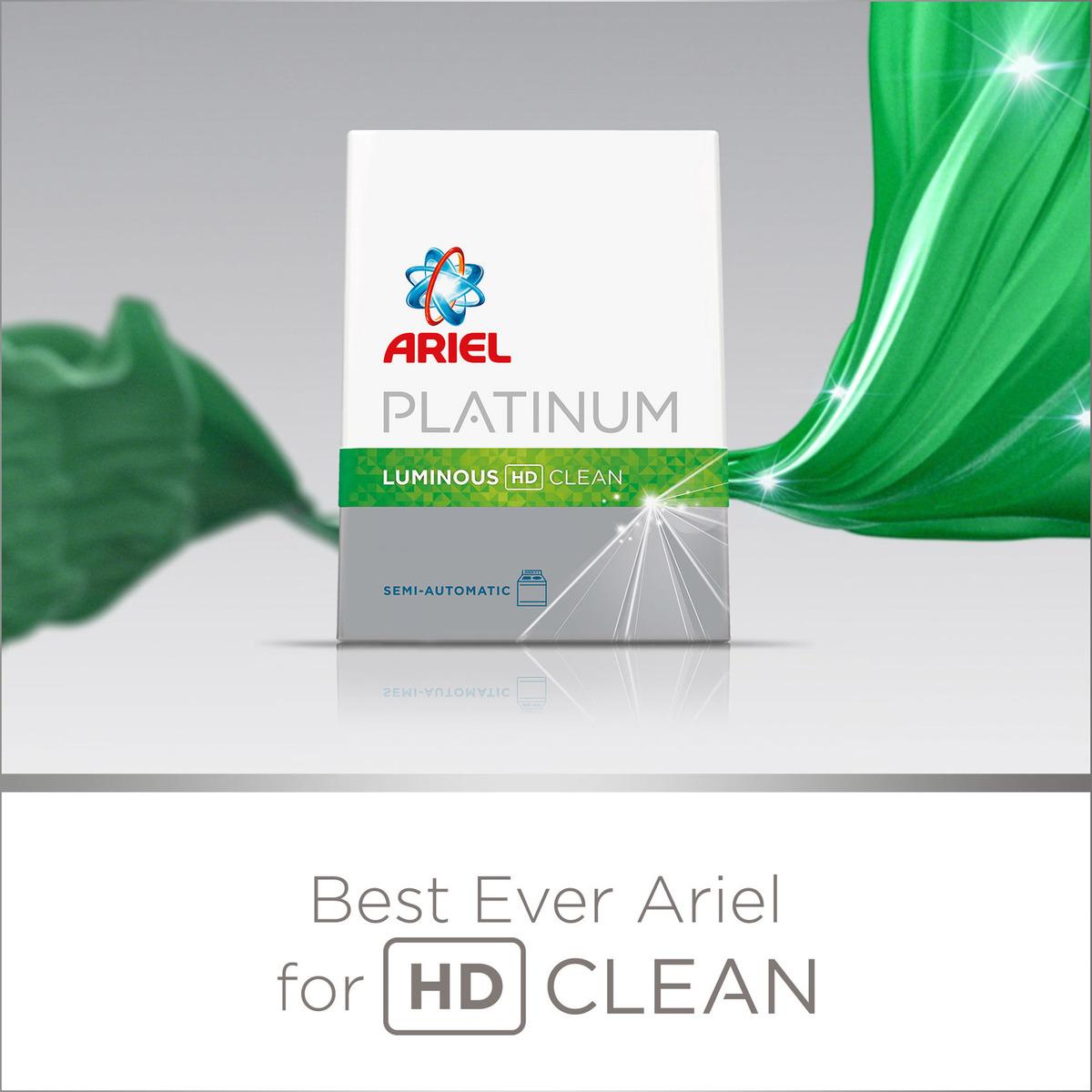 Buy Ariel Platinum Laundry Powder Detergent Luminous HD