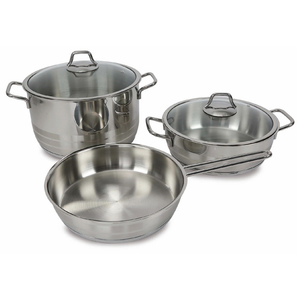 Vivaldi Stainless Steel Cookware Set Grand 5pcs