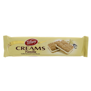 Tiffany Creams Vanilla Flavoured Cream Biscuit 90g