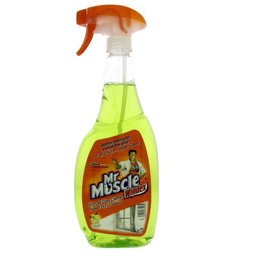 Mr Muscle Advanced Glass Cleaner Lime 750ml