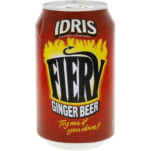 Idris Fiery Ginger Beer 330ml