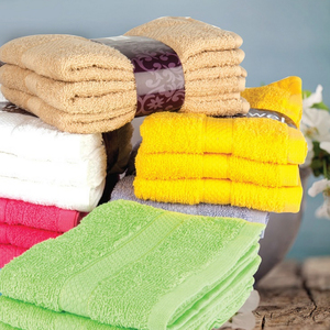 Homewell Hand Towel Cotton 40x60cm 3pc set Assorted