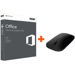 Microsoft Office Home & Student 2016 For MAC 2016 + Microsoft Designer Bluetooth Mouse