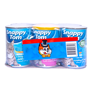 Snappy Tom Cat Food Assorted 6 x  400g