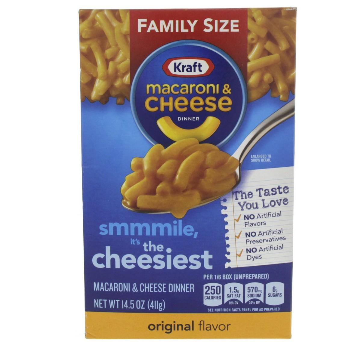 Buy Kraft Macaroni And Cheese Dinner