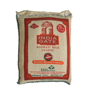 India Gate Classic Basmati Rice 20kg