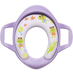 First Step Baby Toilet Potty Seat PT00103 Purple