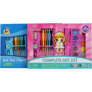 Win Plus Complete Art Set HM-8001 30's Assorted 1Pc