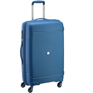 Delsey Sejour 4 Wheel Hard Trolley 55cm Blue