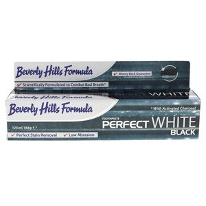Bevery Hills Formula Tooth Paste With Activated Charcoal Perfect White 125ml