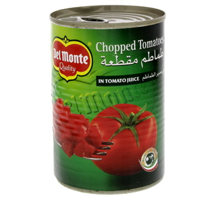 Delmonte Chopped Tomatoes In Juice 400g